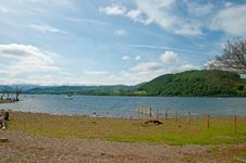Free Banks Of Ullswater Royalty Free Stock Photo - 15754105