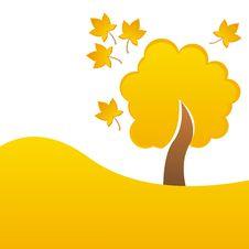 Free Autumn Tree Background Stock Photos - 15754173