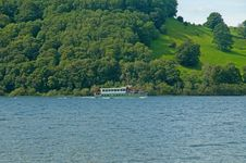 Free Transport On Ullswater Stock Photos - 15754293