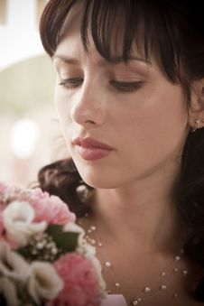 Free Portrait Of A Bride Stock Photography - 15754422