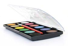 Free Watercolor Box Stock Photo - 15755110