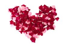 Free Heart Made Of Roses Royalty Free Stock Photos - 15755278