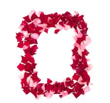 Free Framework From Rose-petals Royalty Free Stock Image - 15755286
