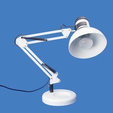 Free Desktop White Lamp Royalty Free Stock Photos - 15755358