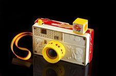 Retro Toy Camera Stock Photo