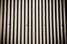 Corrugated Metal Surface Royalty Free Stock Photography