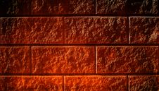 Texture Of A Red Brick Wall Royalty Free Stock Photos