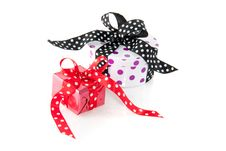 Free Colorfully Dotted Gifts Stock Images - 15756304