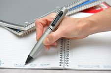 Free Taking Notes Stock Photo - 15756660