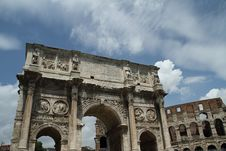 Free Arch Of Constantine Stock Images - 15756784