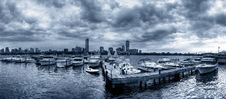 Free Panorama Of Boston Stock Photo - 15757070