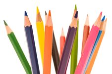 Free Multicolor Pencils Royalty Free Stock Images - 15757319
