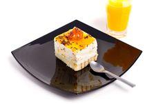 Free Peach Cake Stock Photos - 15757593