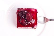 Blackberry Cake Royalty Free Stock Image