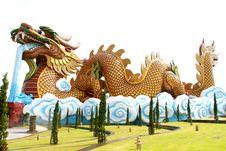 Free Golden China Dragon Stock Photos - 15758023