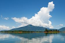 Free Nam Ngum Reservoir In Laos Royalty Free Stock Photography - 15758737