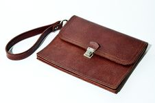 Free Brown Leather Wallet Stock Photography - 15758802