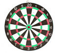 Free Dartboard Isolated On White Background Royalty Free Stock Images - 15761429