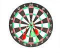 Free Dartboard With Darts Isolated On White Background Stock Photo - 15761680