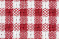 Free Red And White Gingham Checkered Macro Background Royalty Free Stock Photo - 15764035