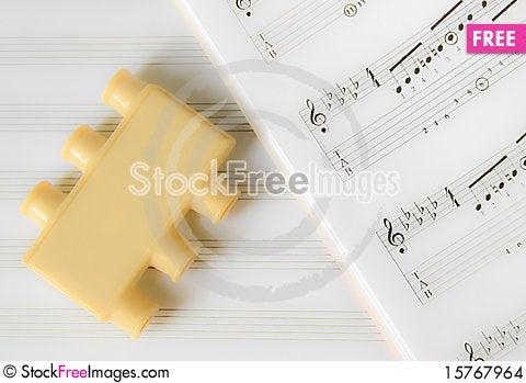 The music tuner Stock Photo