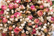 Free Dried Wedding Bouquet Royalty Free Stock Images - 15760229