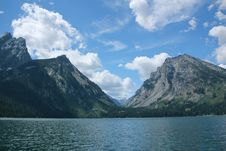 Free Canyon In The Grand Tetons Stock Photography - 15760752