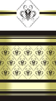 Decorative Retro Background For Wrapping Stock Photos