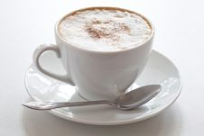 Cup Of Cappuccino Royalty Free Stock Image