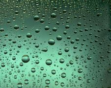 Free Many Water Drops Stock Photography - 15761782