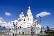 Free New Cathedral At Minsk. The Church Of All Saints Stock Photos - 15761823