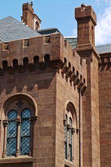 Free Red Brick Castle Stock Photo - 15762630
