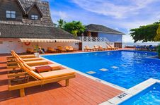 Free Pool At Tropical Island Stock Photography - 15764202