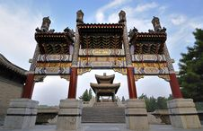 Free Summer Palace- Archway Stock Photography - 15764232