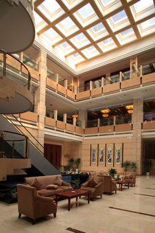 Free Modern Hotel Royalty Free Stock Image - 15764786