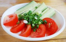 Free Fresh Cut Vegetables. Royalty Free Stock Image - 15764916