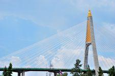 The Pillar Of The Suspension Bridge