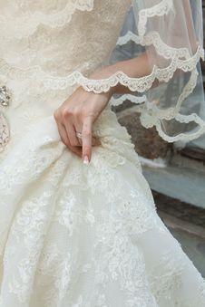 Free Wedding Dress Royalty Free Stock Photos - 15765248