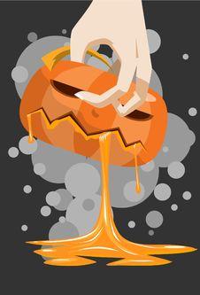 Free The Pumpkin Death Stock Photos - 15765463