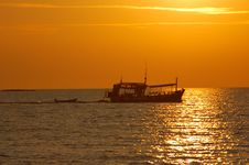Free Boat  In Koh Chang Royalty Free Stock Photography - 15765887