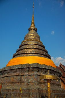 Architecture Of Thailand  In Lampang Royalty Free Stock Image