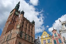 Free Gdansk Old Town, Neptune Statue And City Hall Stock Photos - 15766903