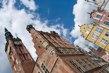 Free Gdansk Old Town And City Hall Stock Photography - 15766922