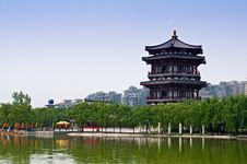Free Chinese Architecture Stock Photography - 15766982