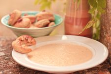 Free Summer Cold Soup Royalty Free Stock Image - 15767246