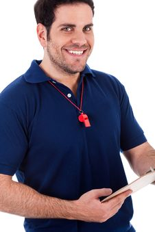 Free Closeup Of Smiling Man Royalty Free Stock Photo - 15767315