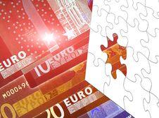Free Euro Puzzle Royalty Free Stock Image - 15767566