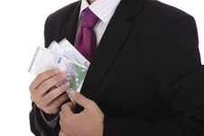 Free Businessman With Cash Stock Images - 15767634