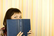 Free Girl With Notebooks Stock Image - 15767901