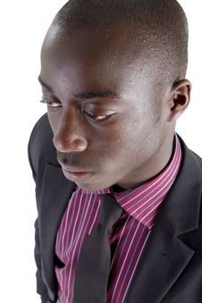 Free Young Black Businessman Stock Photography - 15768052